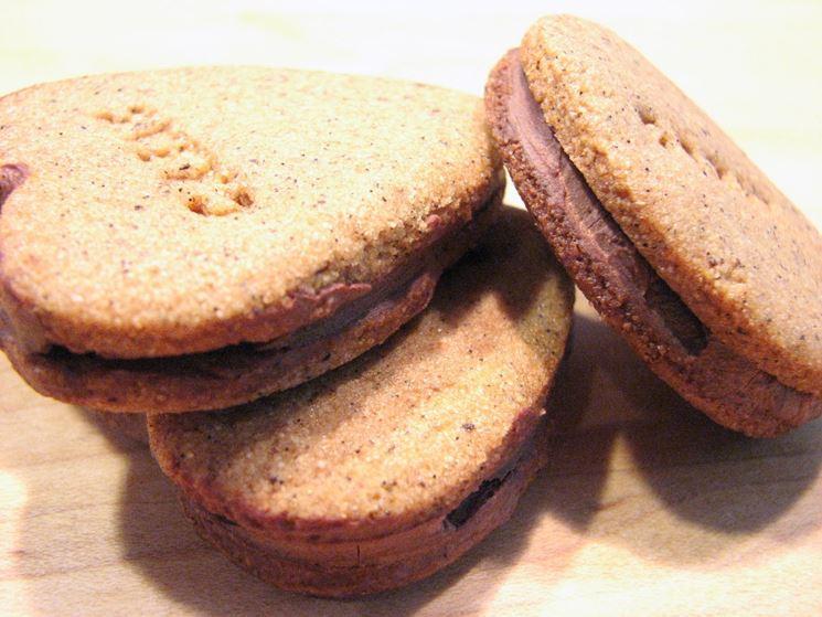 Biscotti di Kamut con cioccolato