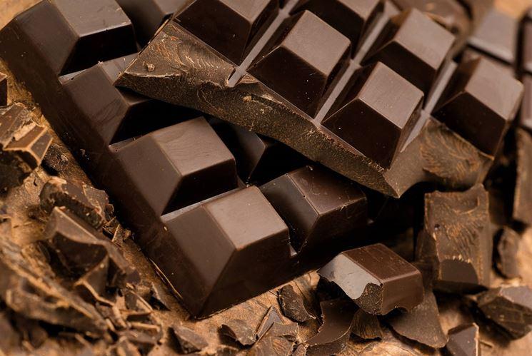 Esempio tavola di cioccolato
