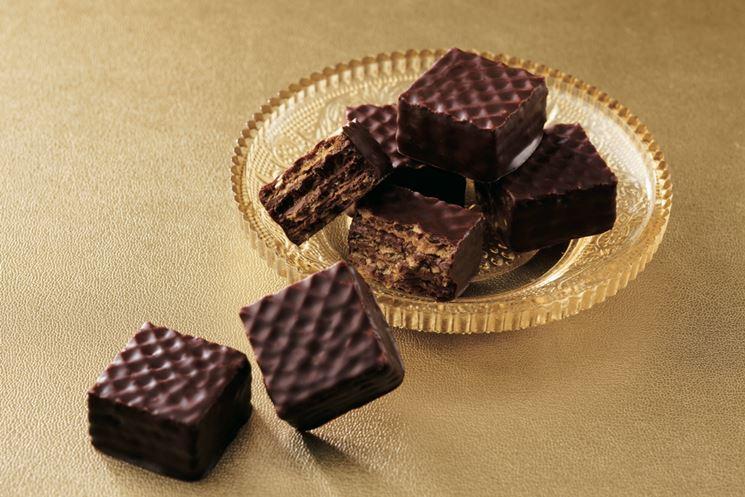 Wafer alla nocciola e cioccolato