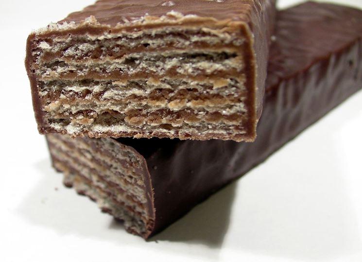 Wafers biologici al cioccolato