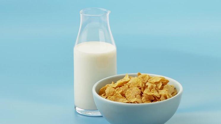 Latte colazione