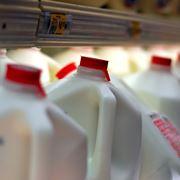 Contenitore latte supermecati