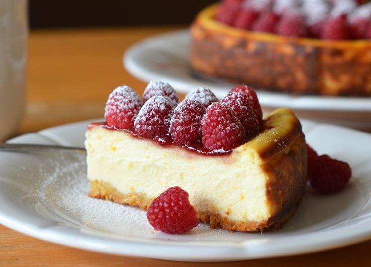 Cheesecake con ricotta biologica