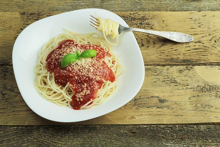 Spaghetti biologici al pomodoro