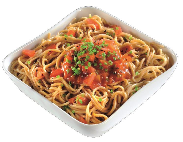 Gustosi spaghetti biologici