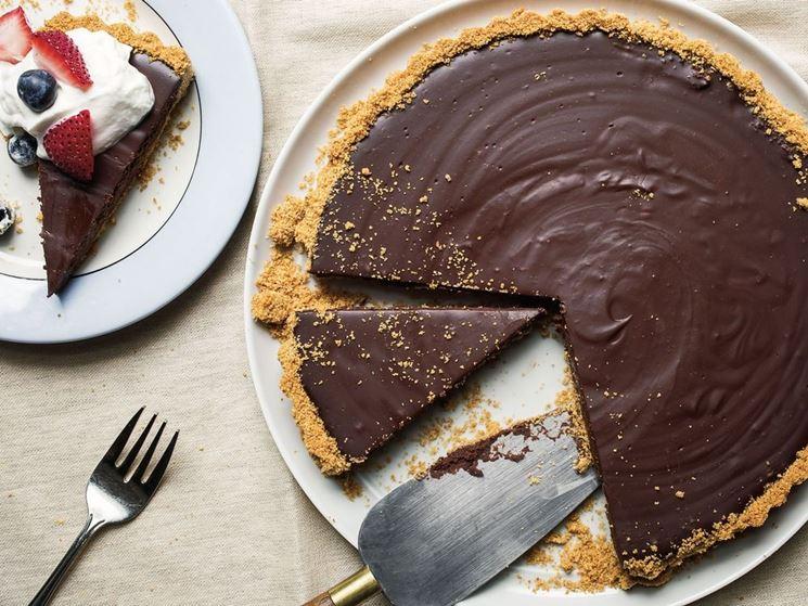 Crostata cioccolata