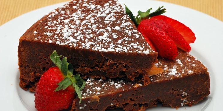 Tenerina al cioccolato tipico dolce ferrarese