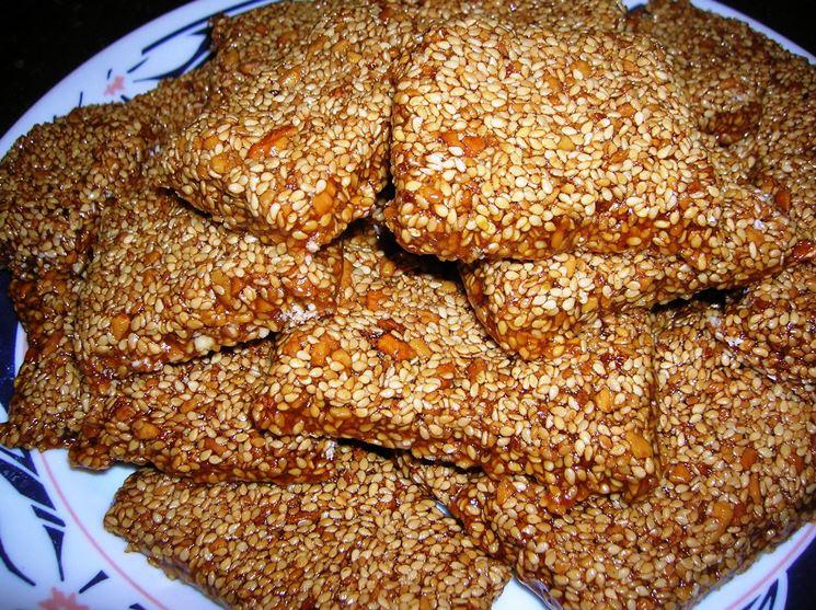 Croccante di semi di sesamo