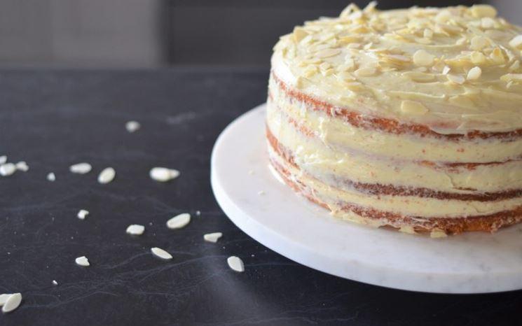 Torta con farina dietoterapeutica priva di glutine