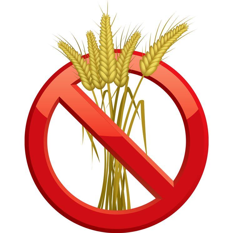 Simbolo cibo senza glutine