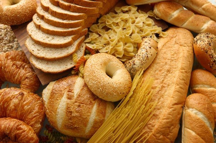 prodotti da forno contenenti glutine
