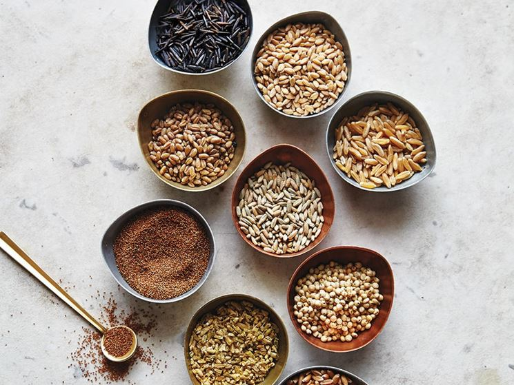 Cereali privi glutine