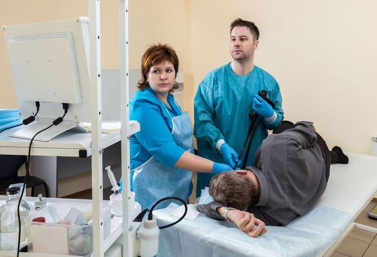 Centro di esami diagnostico per la gastroscopia