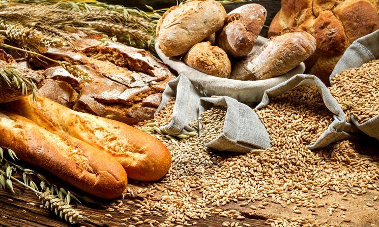Cibi contenenti glutine