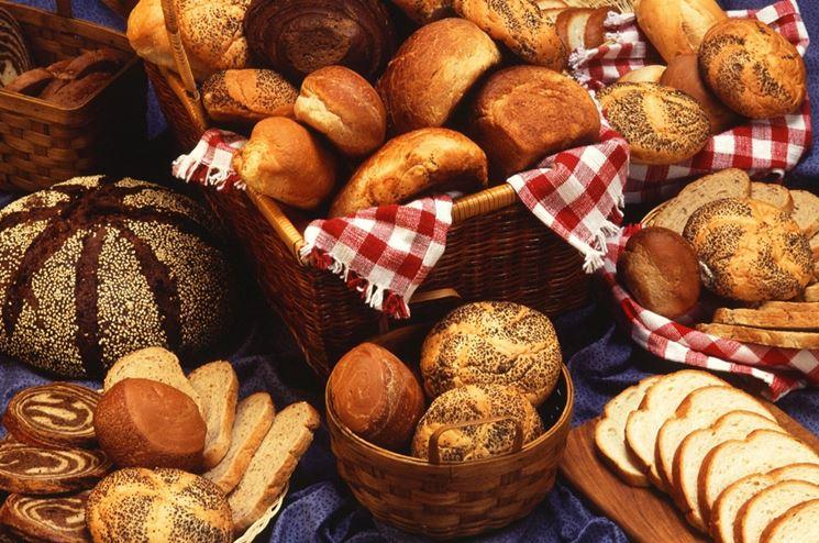 Pane con ingredienti diversi