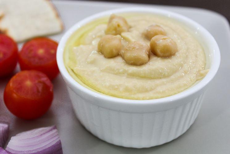 Hummus di ceci con prezzemolo