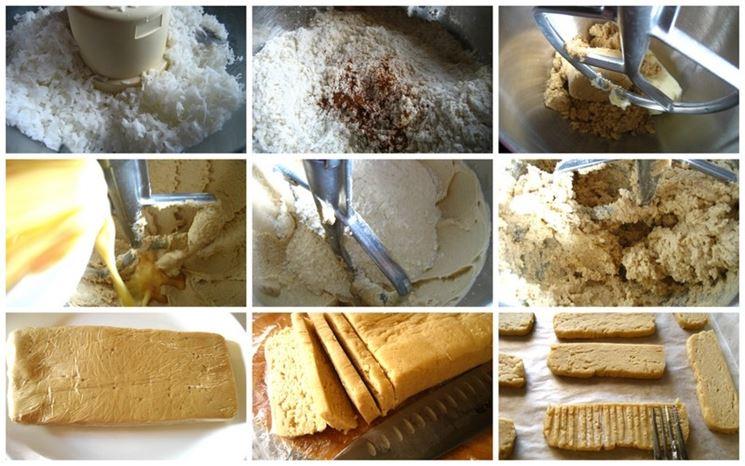 Lavorazione delle farine senza glutine