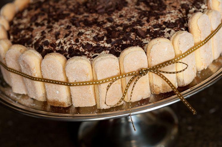 Tiramisù realizzato con savoiardi senza glutine