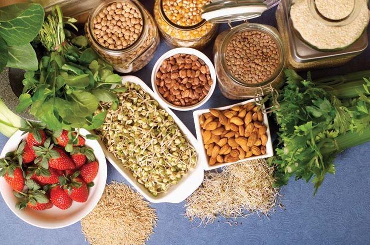 Prodotti per una dieta senza glutine