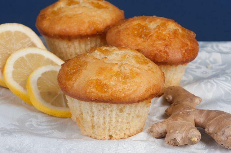 Muffin al limone e zenzero