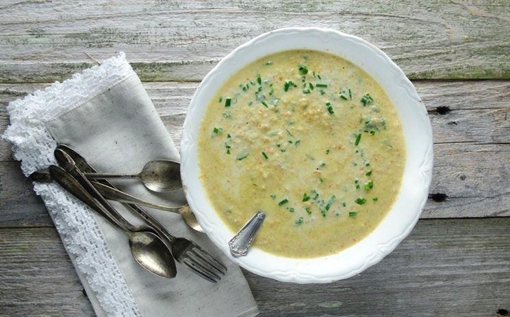 Esempio di zuppa di verdure