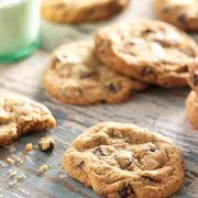 Biscotti per celiaci con gocce di cioccolato