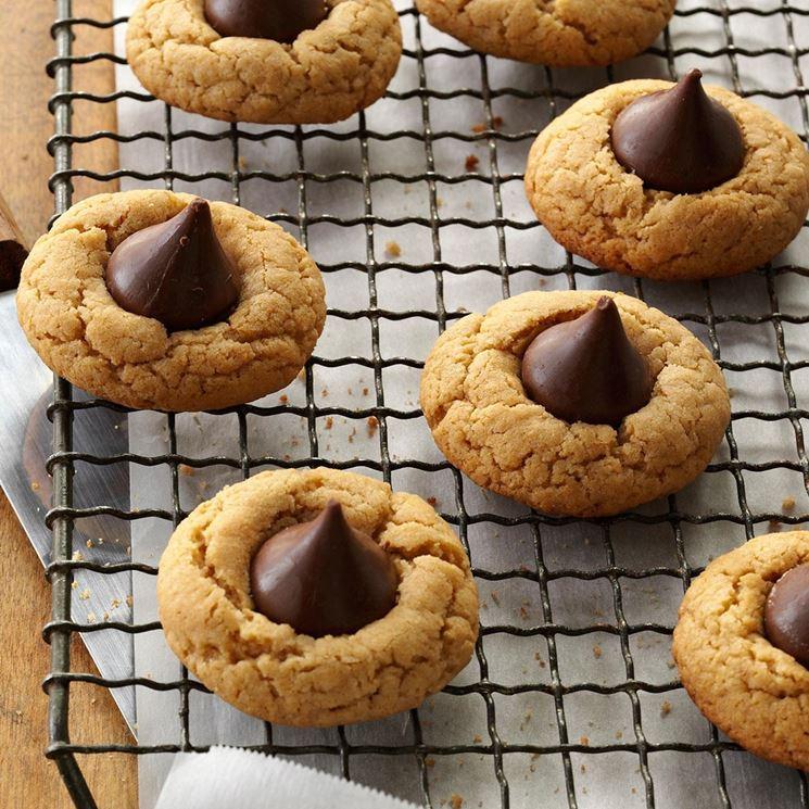 Biscotti per celiaci con cioccolato