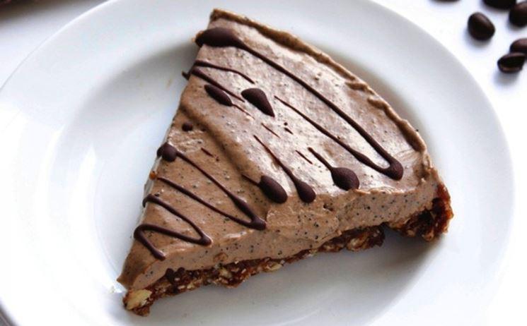 Crostata cioccolato e crema senza glutine