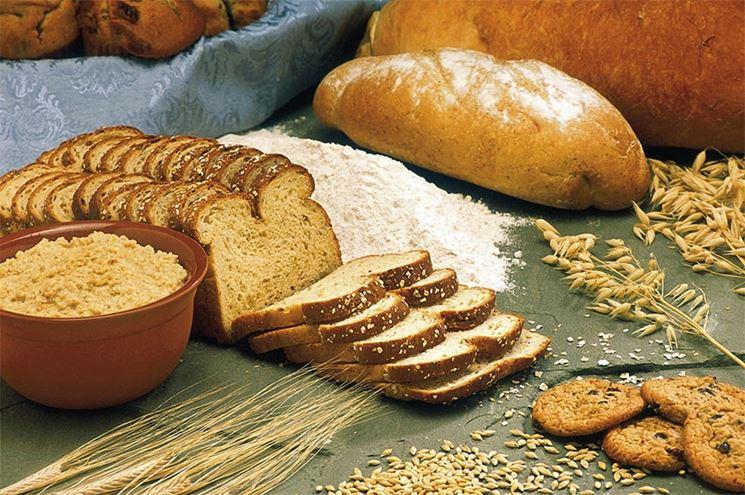 Alimenti ricchi di glutine