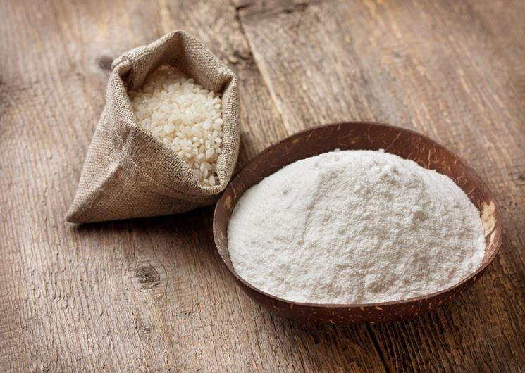 Farina di riso senza glutine