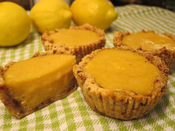 Deliziose crostatine al limone