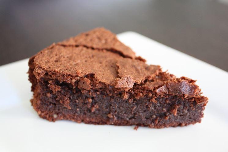 Torta Tenerina senza glutine