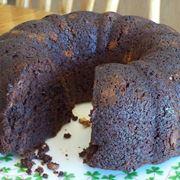 Ciambella al cioccolato senza glutine