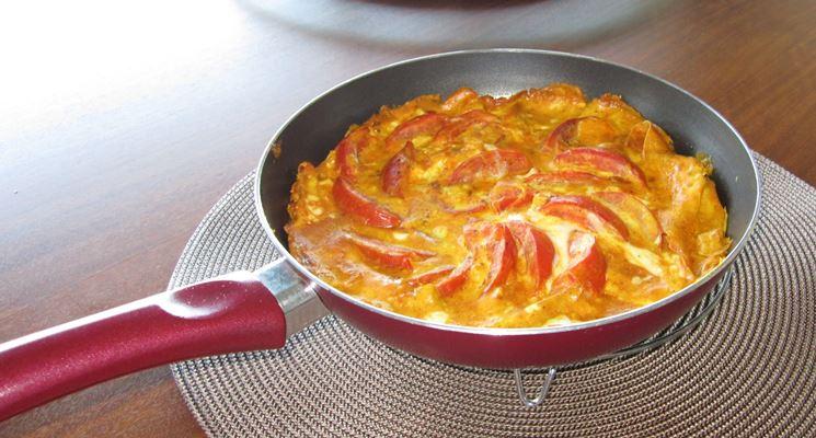 Frittata di pomodori