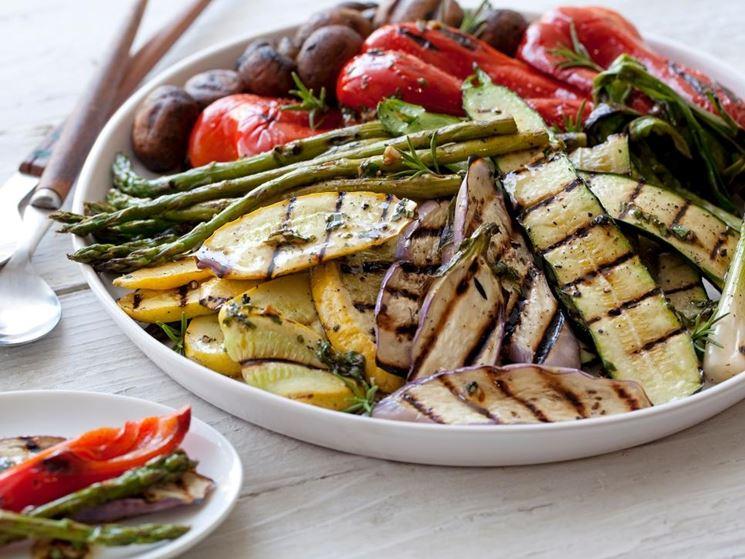Piatto getariano con verdure