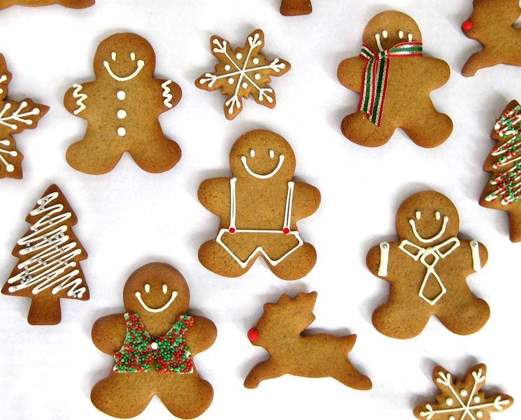 Biscotti Pan di Zenzero natalizi