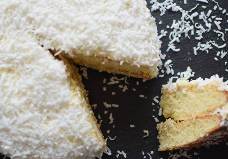 Gustosa torta al cocco
