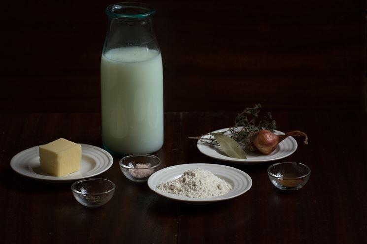 Ingredienti besciamella