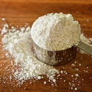 La farina, ricca di glutine