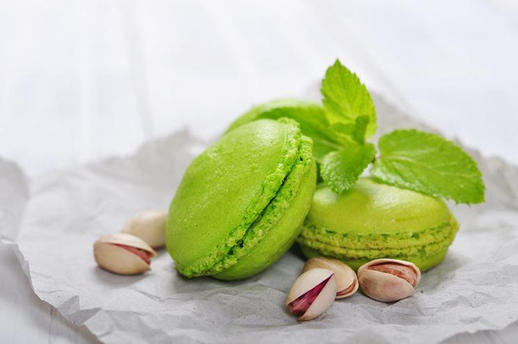 Macarons pistacchio