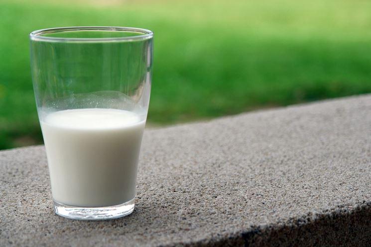 Bicchiere di latte
