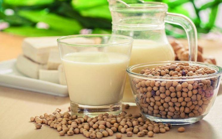 Latte e burro di soia