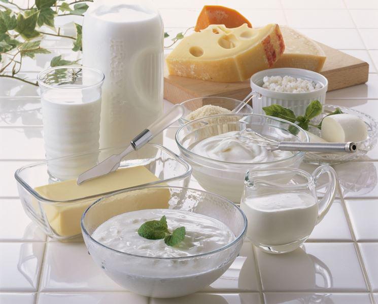Latte, latticini e formaggi
