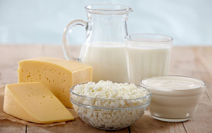 Alimenti contenenti lattosio