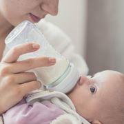 Allattamento con latte senza lattosio