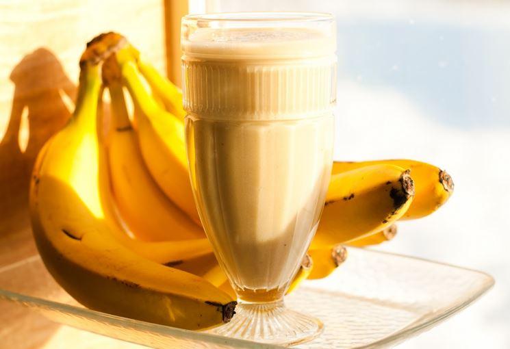 Frullato alle banane