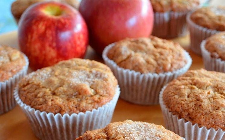 Muffin di mele