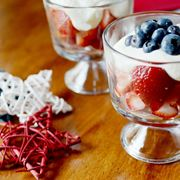 Coppetta di crema alla frutta