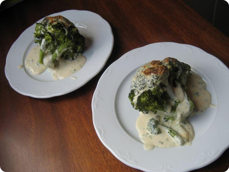 Broccoli besciamella