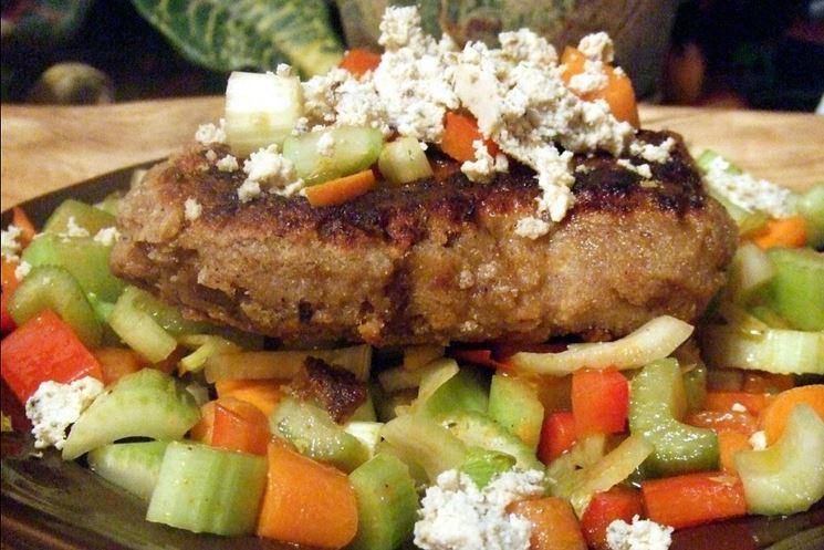 Bistecca vegana arrosto